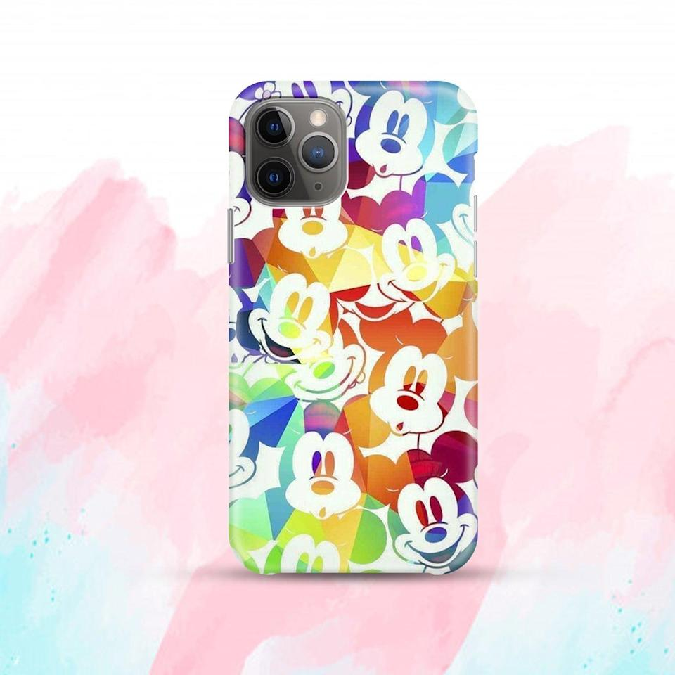 <p>The <span>Rainbow Mickey Mouse Case</span> ($10, and up) makes a vibrant and colorful statement.</p>