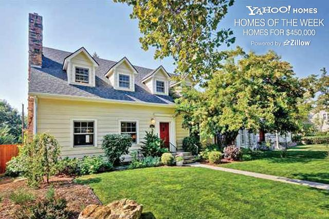 "<p>Welcome to Yahoo! Homes of the Week, powered by Zillow. This week we're looking at homes for sale for around $450,000. See additional $450,000 homes on <a href=""http://www.zillowblog.com/2013-02-21/how-much-house-can-you-get-for-450000-2/"" target=""_blank"">Zillow Blog</a>.</p> <br /> <p>Recently featured prices on Yahoo! Homes of the Week:<br /> <br /> • <a href=""http://homes.yahoo.com/photos/yahoo-homes-of-the-week-homes-for-300-000-slideshow/"" target=""_blank"">Homes for $300,000</a><br /> • <a href=""http://yhoo.it/UTWFOV"" target=""_blank"">Homes for $375,000</a><br /> • <a href=""http://homes.yahoo.com/photos/yahoo-homes-of-the-week-homes-for-450-000-slideshow/"" target=""_blank"">Homes for $450,000</a></p>"