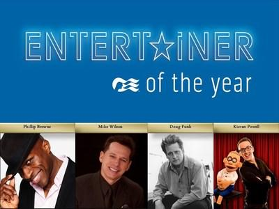 Princess Cruises Announces Finalists for 8th Annual Entertainer of the Year Competition