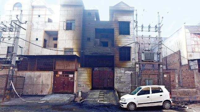 The fire that set ablaze the factory's two floors on Saturday evening claimed 17 lives, including 10 women.