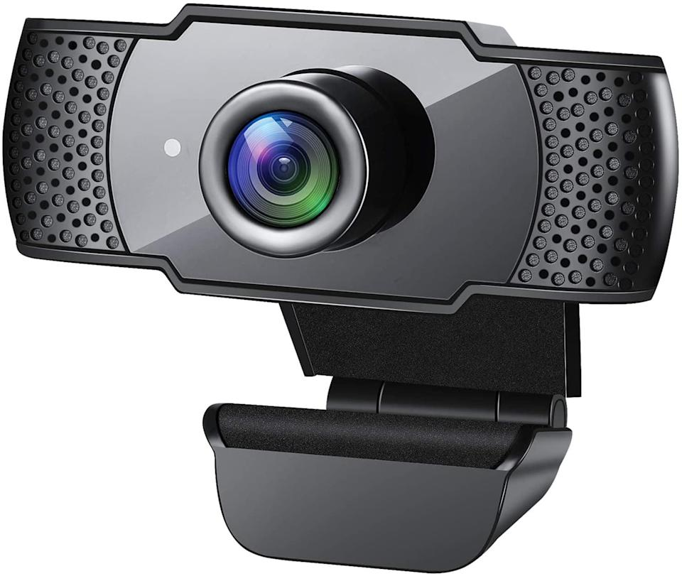<p>The camera on your laptop doesn't compare to this <span>Webcam with Microphone</span> ($35).</p>