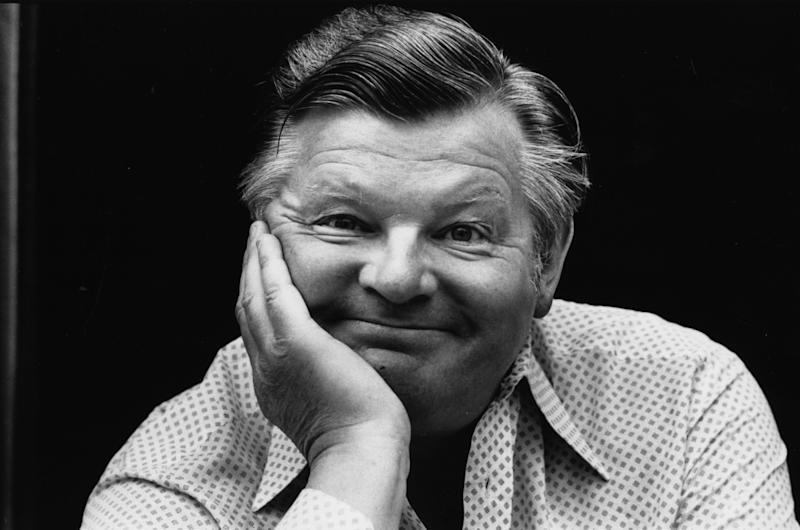 June 1977: British comedian Benny Hill. (Photo by Evening Standard/Getty Images)
