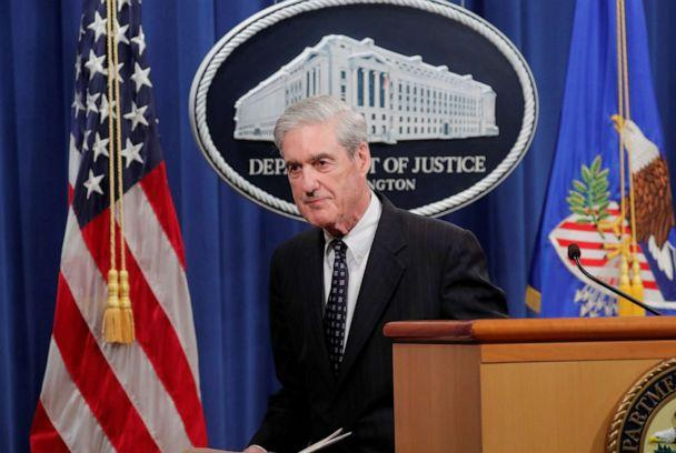 PHOTO: Special Counsel Robert Mueller departs after delivering a statement on his investigation into Russian interference in the 2016 U.S. presidential election at the Justice Department in Washington, May 29, 2019. (Jim Bourg/Reuters, FILE)