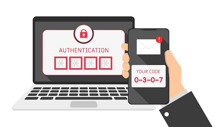 Ever signed into an account using your name and password and then been asked to take a second step to prove you are who you say you are? That's two-factor authentication at work.