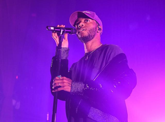 <p>The 25-year old hip-hopper from Georgia was nominated for Best Urban Contemporary Album, while such better-known artists as Alicia Keys, Bryson Tiller, Jhene Aiko, and Kehlani fell short. (Photo: Paras Griffin/Getty Images) </p>