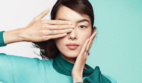 This advertisement for Tiffany & Co. caused consternation in China after some viewers believed it was a reference to a journalist who was blinded in one eye during the Hong Kong protests, and subsequently became a symbol for protesters. Photo: Tiffany & Co.