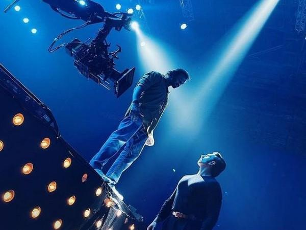 Rohit Shetty, Ranveer Singh in a still from 'Cirkus' (Image Source: Instagram)