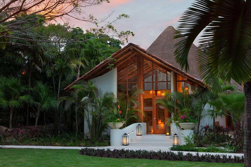The Mahekal Beach Resort, voted one of the best hotels in the world