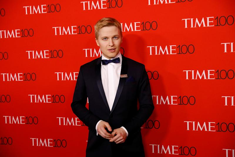 Ronan Farrow at the TIME 100 Gala in 2010. (Photo: REUTERS/Shannon Stapleton)