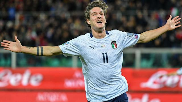 Roberto Mancini's Italy turned on the style in their final Group J game in Euro 2020 qualifying with a 9-1 demolition of Armenia.