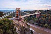 """<p>Certain UK towns are always referred to as 'up-and-coming', but Bristol really is the new cool city. The <a href=""""https://www.ons.gov.uk/"""" rel=""""nofollow noopener"""" target=""""_blank"""" data-ylk=""""slk:Office for National Statistics"""" class=""""link rapid-noclick-resp"""">Office for National Statistics</a> found that over 13,000 people left London to move to the city between 2015 and 2017, making it more popular than even Brighton. For those just visiting, it's worth seeing the museum & art gallery, and Bristol Zoo Gardens.</p><p><a class=""""link rapid-noclick-resp"""" href=""""https://go.redirectingat.com?id=127X1599956&url=https%3A%2F%2Fwww.expedia.co.uk%2FBristol-Hotels.d688.Travel-Guide-Hotels&sref=https%3A%2F%2Fwww.cosmopolitan.com%2Fuk%2Fentertainment%2Ftravel%2Fg30397906%2Fbest-places-to-visit-uk%2F"""" rel=""""nofollow noopener"""" target=""""_blank"""" data-ylk=""""slk:BOOK NOW"""">BOOK NOW</a></p>"""