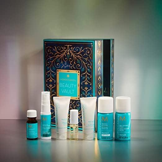 <p>Countdown to amazing hair with the <span>Moroccanoil Advent Calendar Argan Oil Infused Gift Set</span> ($29, originally $45).</p>