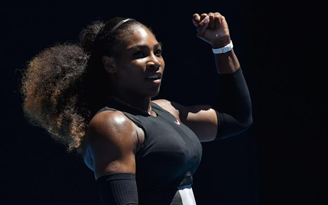 "<a class=""link rapid-noclick-resp"" href=""/olympics/rio-2016/a/1132744/"" data-ylk=""slk:Serena Williams"">Serena Williams</a>' return to the court is imminent."