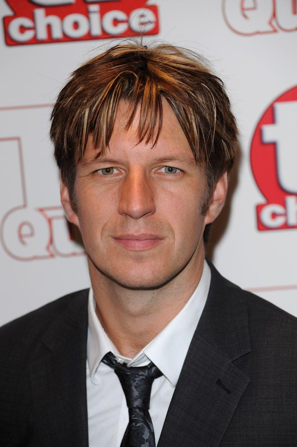 <p>Best known for his roles on British television series, Lancaster has one blue eye and one hazel with gold flecks.</p>