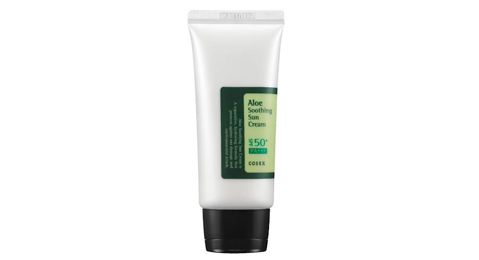 COSRX's Aloe Soothing SPF50