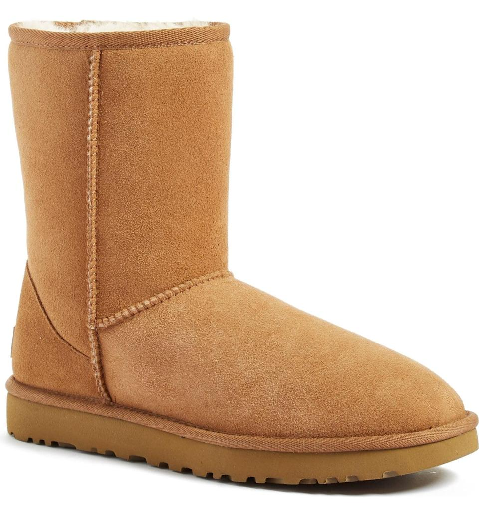 <p>These <span>UGG Classic II Genuine Shearling Lined Short Boots</span> ($170) are pretty much the ultimate gift. They're so cozy, the recipient will never want to take them off.</p>