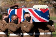 Funeral of Captain Sir Tom Moore