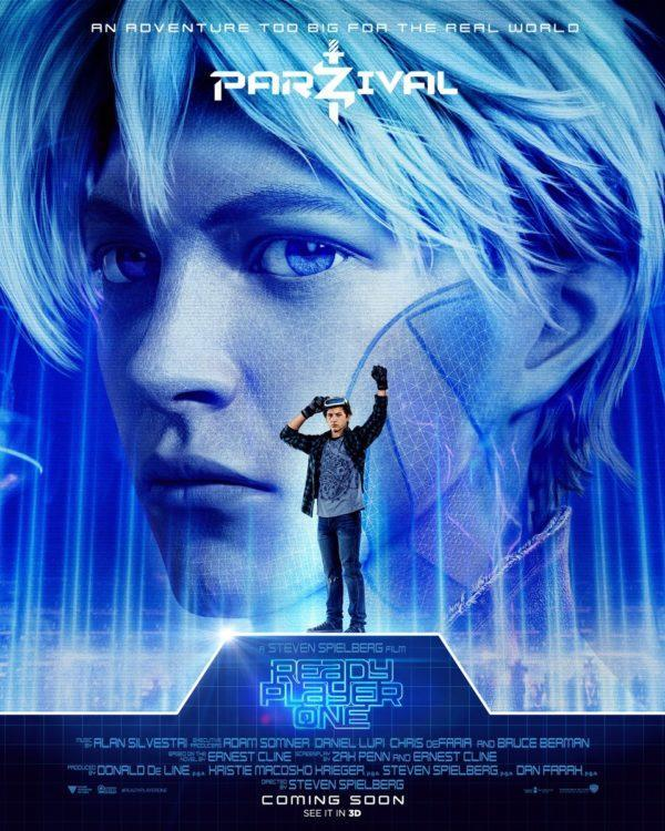 <p>Wade Watts (Tyler Sheridan) is our lead character, Parzival is his VR avatar – basically a cooler version of a character who (in the book, anyway) struggles to fit in. Parzival is what Wade uses to explore the Oasis, the virtual reality world at the heart of the story. </p>