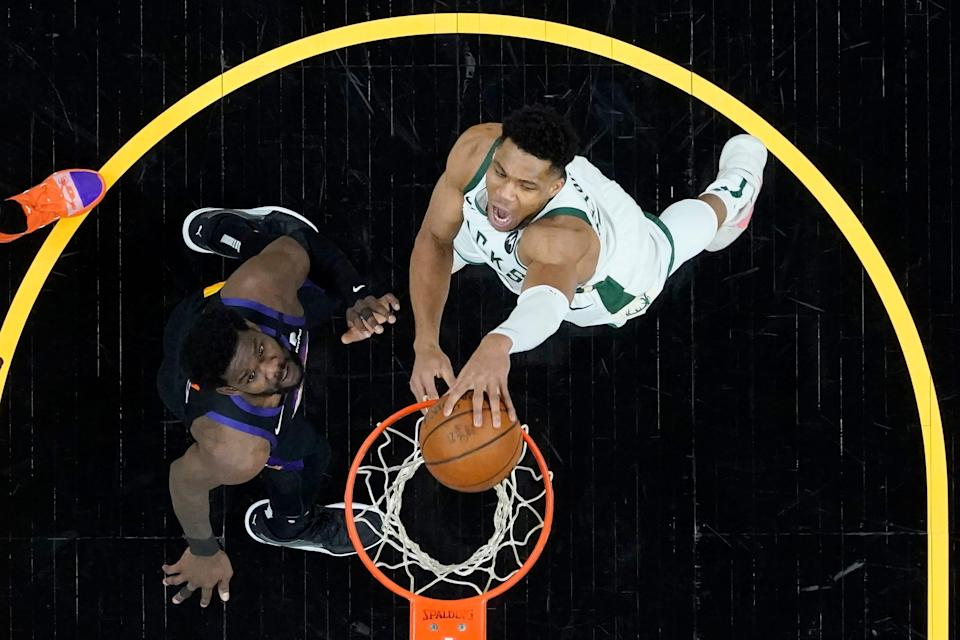 After improving the roster in the offseason, the Bucks signed Giannis Antetokounmpo to a five-year contract extension in December.