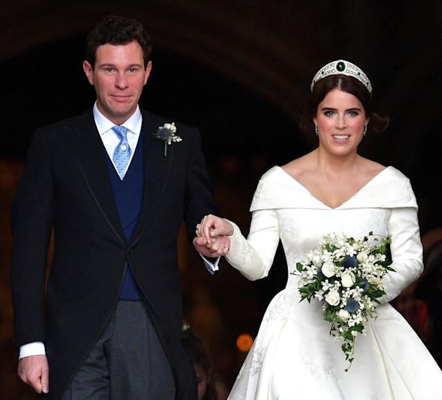 Jack and Eugenie got married in October 2018. (Getty Images)