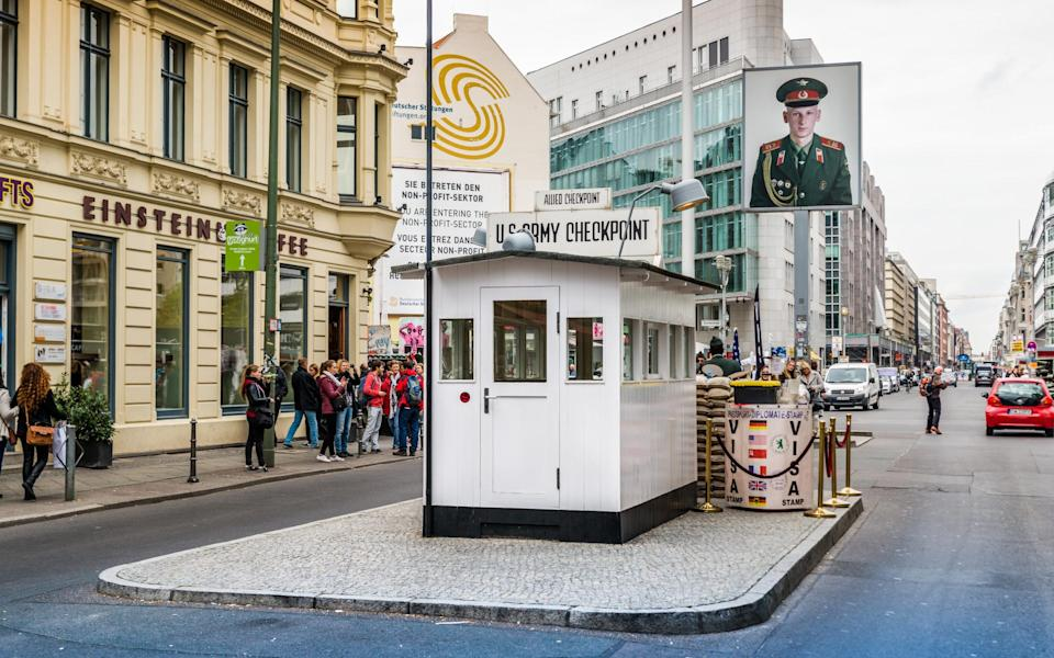 Checkpoint Charlie, Berlin - Getty
