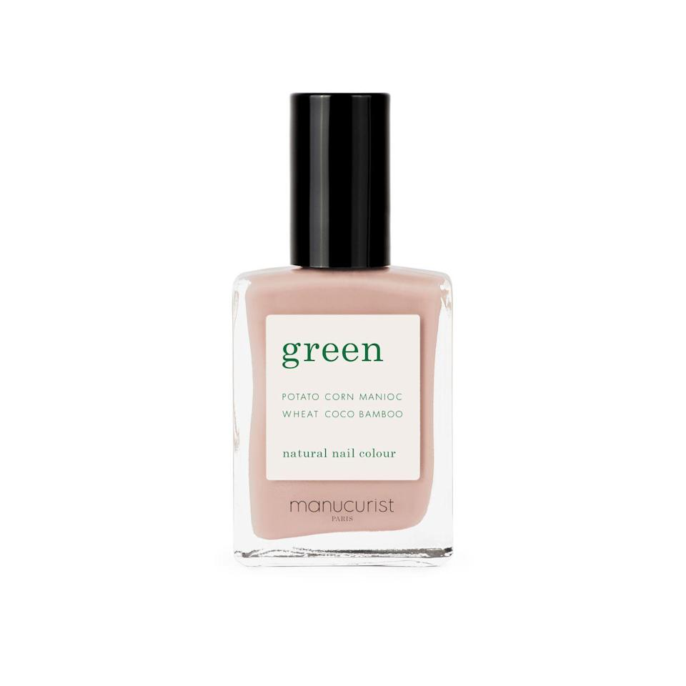 """<p><a class=""""link rapid-noclick-resp"""" href=""""https://uk.manucurist.com/products/green-nail-polish-bare-skin"""" rel=""""nofollow noopener"""" target=""""_blank"""" data-ylk=""""slk:SHOP NOW"""">SHOP NOW</a> </p><p>Tip: if you've been lax with your vitamins, give tips a coating of <a href=""""https://uk.manucurist.com/products/green-nail-polish-bare-skin"""" rel=""""nofollow noopener"""" target=""""_blank"""" data-ylk=""""slk:Manucurist Nail Polish in Bare Skin, £14"""" class=""""link rapid-noclick-resp"""">Manucurist Nail Polish in Bare Skin, £14</a>. The vegan and mostly-natural formula applies a fresh Instagram-worthy filter in one sweep.</p>"""