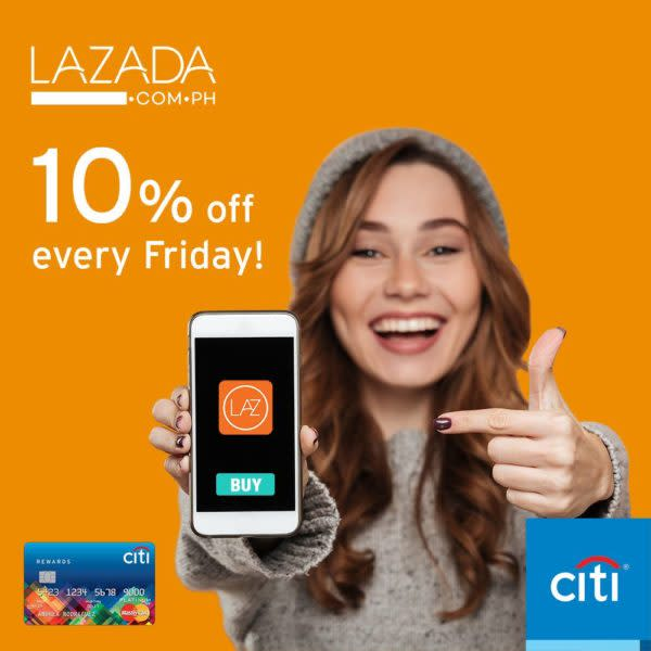 citibank credit card promo - lazada shopping