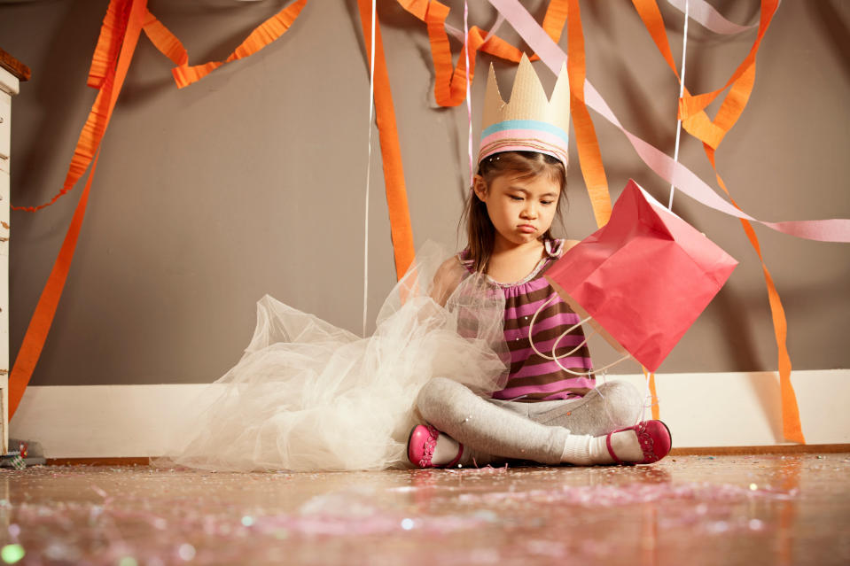 Should parents have more control about what goes in kids party bags? [Photo: Getty]