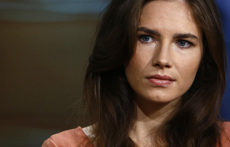 Amanda Knox (Photo by: Peter Kramer/NBC/NBC Newswire/NBCUniversal via Getty Images)