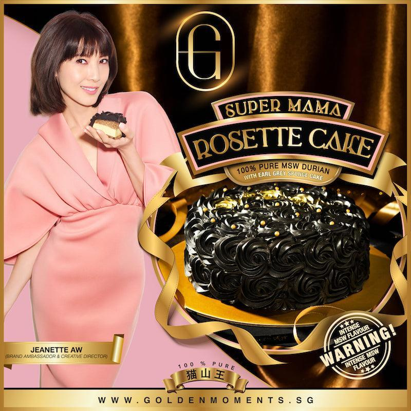 Golden Moments Mother's Day 2021 Rosette Cake poster with Janette Aw