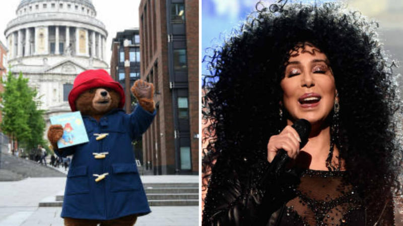 Cher And Paddington Bear Share Care, And We Can't Bear It