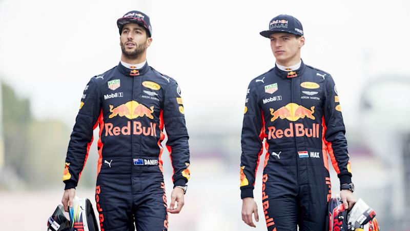 Ricciardo using MotoGP star Rossi as motivation to stay ahead of the F1 curve