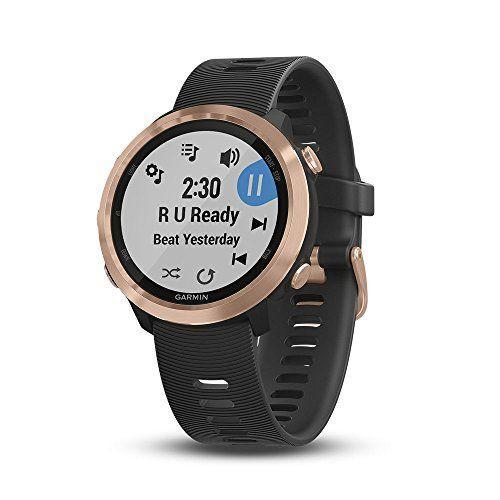 "<p><strong>Garmin</strong></p><p>amazon.com</p><p><strong>$300.52</strong></p><p><a href=""https://www.amazon.com/dp/B07DPDVJX9?tag=syn-yahoo-20&ascsubtag=%5Bartid%7C2142.g.34370773%5Bsrc%7Cyahoo-us"" rel=""nofollow noopener"" target=""_blank"" data-ylk=""slk:Shop Now"" class=""link rapid-noclick-resp"">Shop Now</a></p><p>The Forerunner 645 Music is Garmin's first GPS watch with integrated music—it can store up to four gigabytes (or about 500 songs), no need to connect it to your phone. You can also use the watch to make contactless payments, track your heart rate, and, of course, monitor your workout stats.</p>"