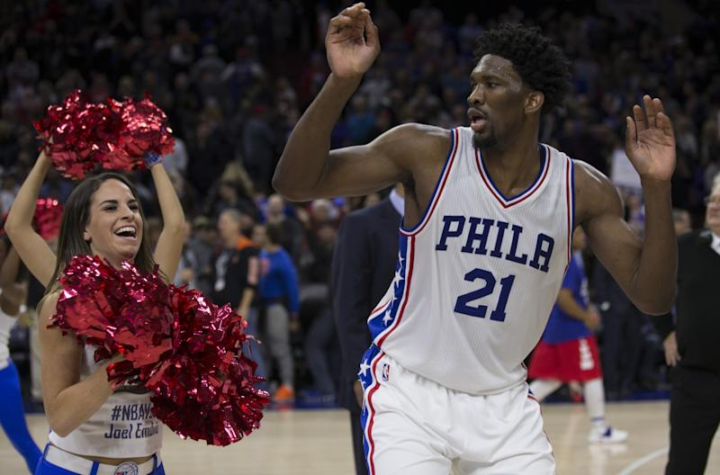 Joel Embiid has all the right moves. (Getty Images)