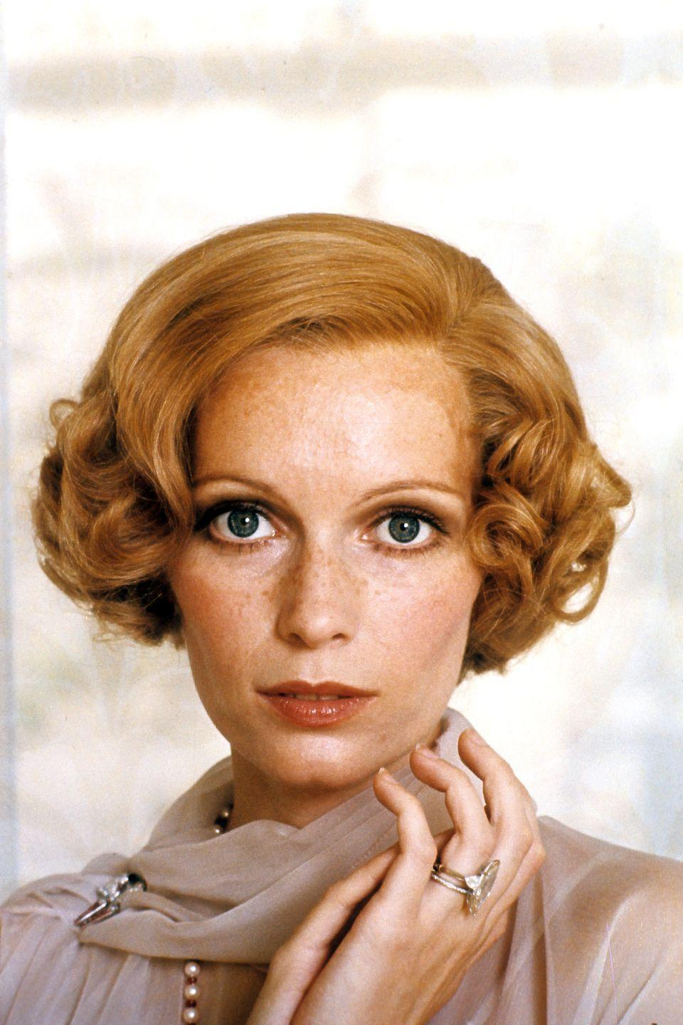 <p>In one of her most well-known roles, Farrow starred alongside Robert Redford in the 1974 film adaptation of <em>The Great Gatsby</em>. The actress grew out her hair to play heiress Daisy Buchanan. </p>