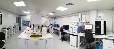 Khiron's state-of-the-art, 14,000 square foot GMP compliant cannabis extraction lab and ISO 17025 compliant cannabis testing lab near Ibague, Colombia — August 2019 (CNW Group/Khiron Life Sciences Corp.)