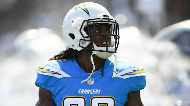 """""""When or if Melvin reports, he'll play this season under his current contract,"""" said Tom Telesco of Chargers running back Melvin Gordon."""