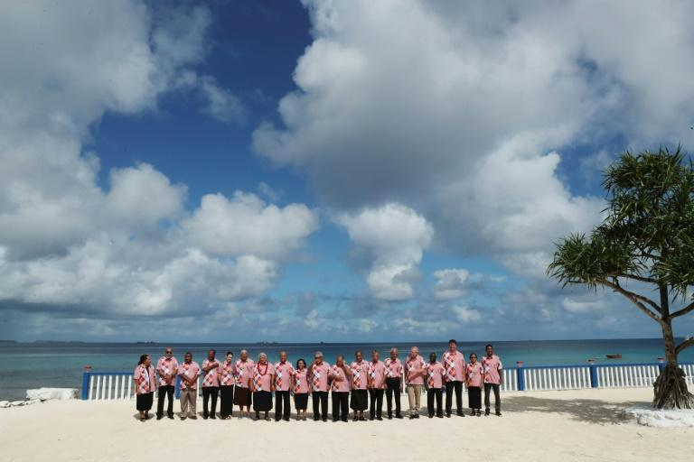 The annual Pacific Island Forum wrapped up in Tuvalu with Australia and the group's 17 other members sharply at odds on climate change