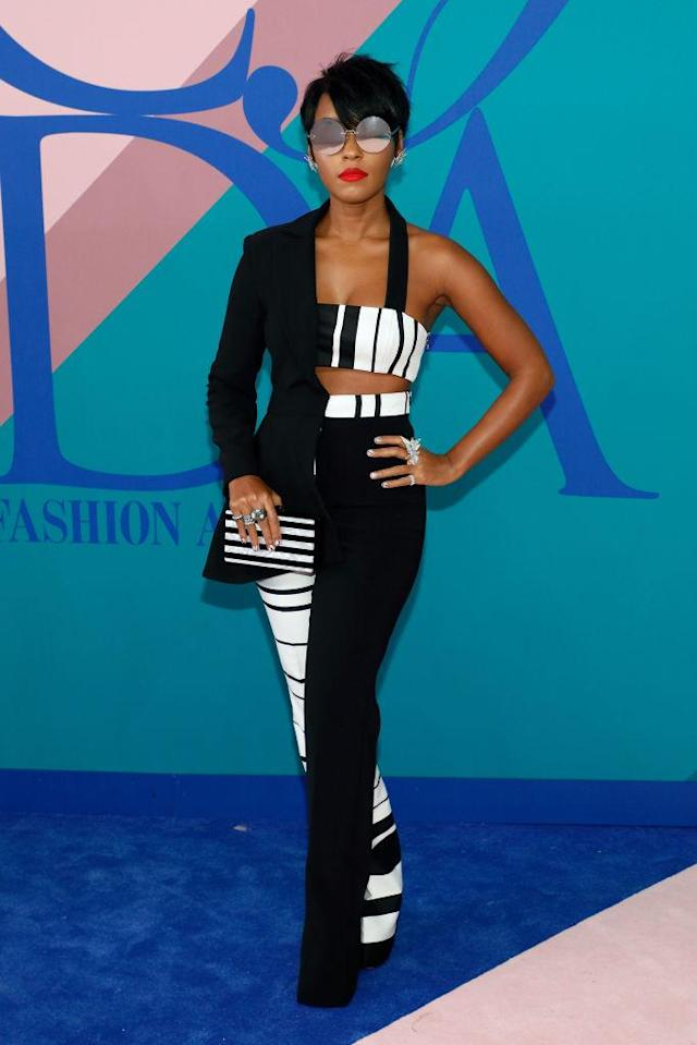 Janelle Monae in Christian Siriano (Photo: Getty Images)