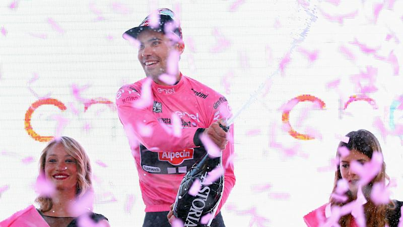 Giro winner Dumoulin commits to Team Sunweb