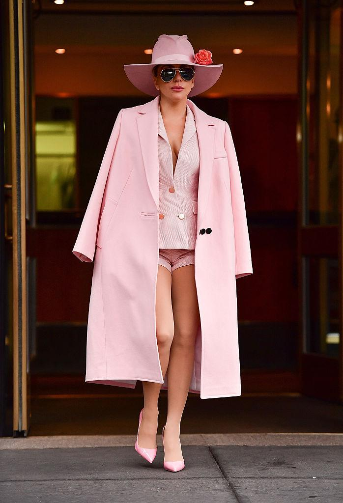 Pink Is The Hottest Color According To Lady Gaga