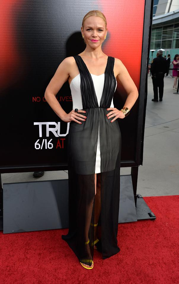 HOLLYWOOD, CA - JUNE 11:  Actress Lauren Bowles, attends the premiere of HBO's 'True Blood' Season 6 at ArcLight Cinemas Cinerama Dome on June 11, 2013 in Hollywood, California.  (Photo by Frazer Harrison/Getty Images)
