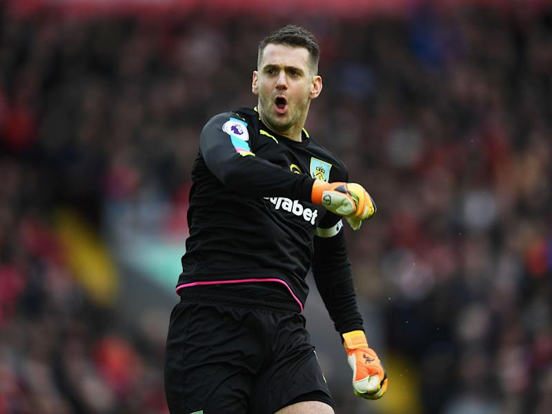 Tom Heaton denied Sunderland at the death: Getty