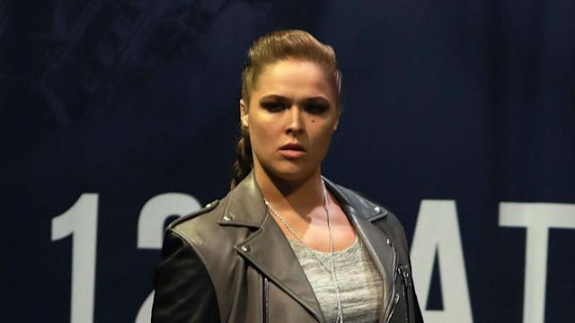Ronda Rousey is finally enjoying a social life, according to Dana White. (Getty)