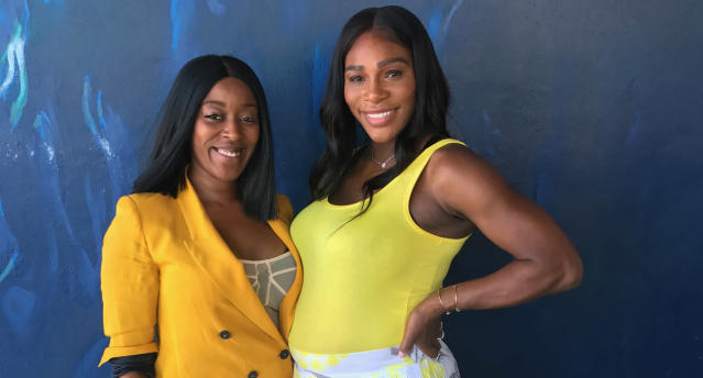 Kesha McLeod has been styling Serena Williams for more than eight years. (Photo: Kesha McLeod)