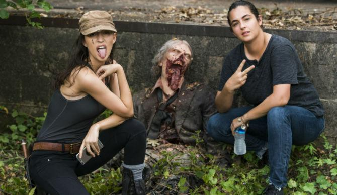 The Walking Dead Spoilers Christian Serratos Explains