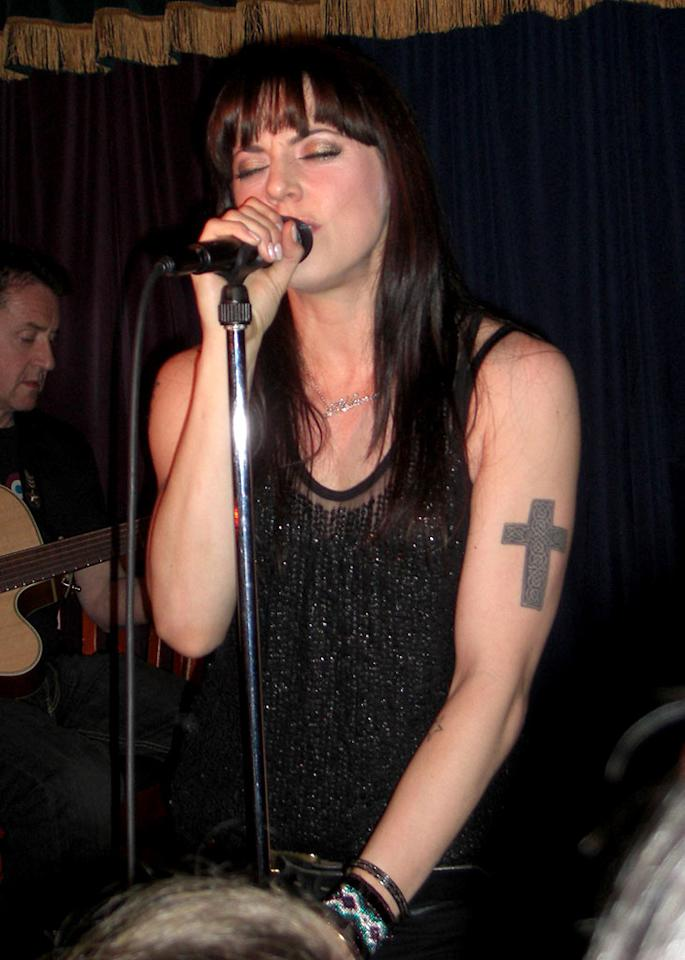 "Melanie Chisholm, better known as Sporty Spice, performed a solo gig at The Mint in L.A. on her day off from the Spice Girls reunion tour. Ashley Love/<a href=""http://www.splashnewsonline.com"" target=""new"">Splash News</a> - December 6, 2007"