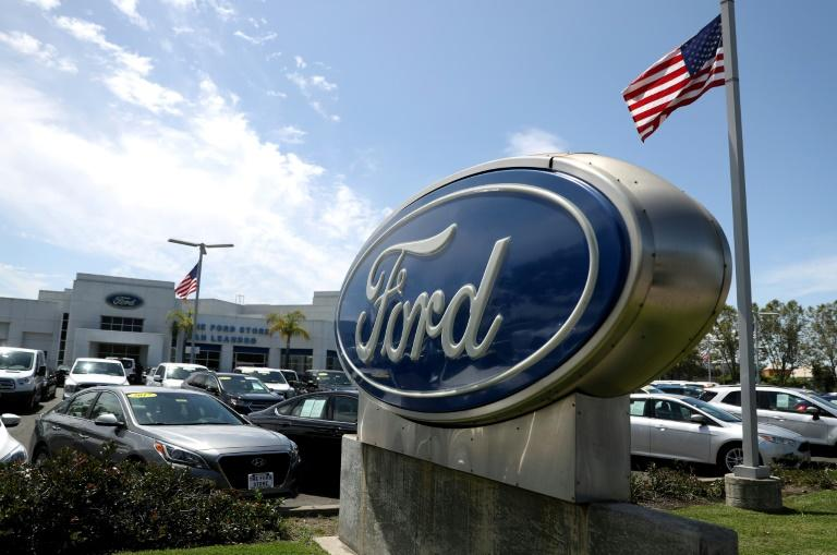 Moody's slashed the credit rating on Ford to junk status, citing the automaker's weaker financial outlook