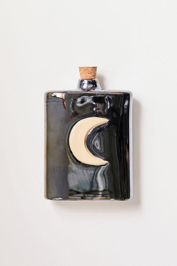 Moon Ceramic Flask