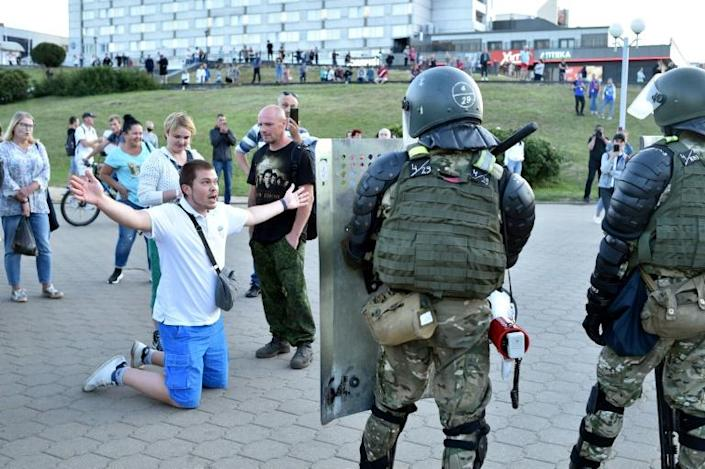 Police repression itself became a driving force for further demonstrations after Belarus' presidential poll
